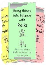 reiki leaflets flyers brochures