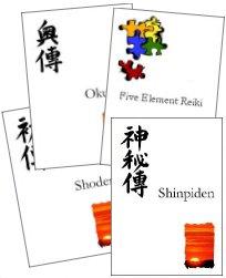 reiki healing books and manuals