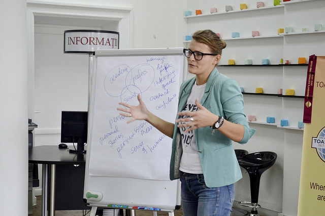 reiki teaching advice: public speaking