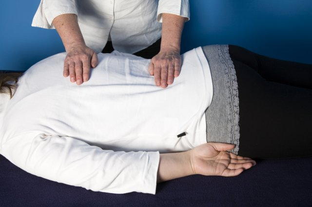 reiki treatment both sides turn over backs