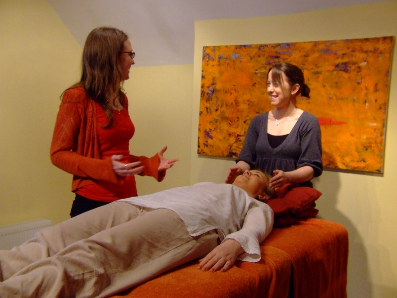 hosting a reiki practice day